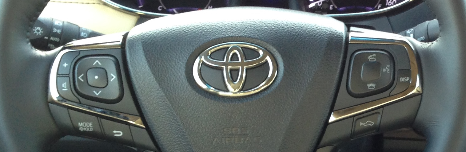 Avalon Steering Wheel