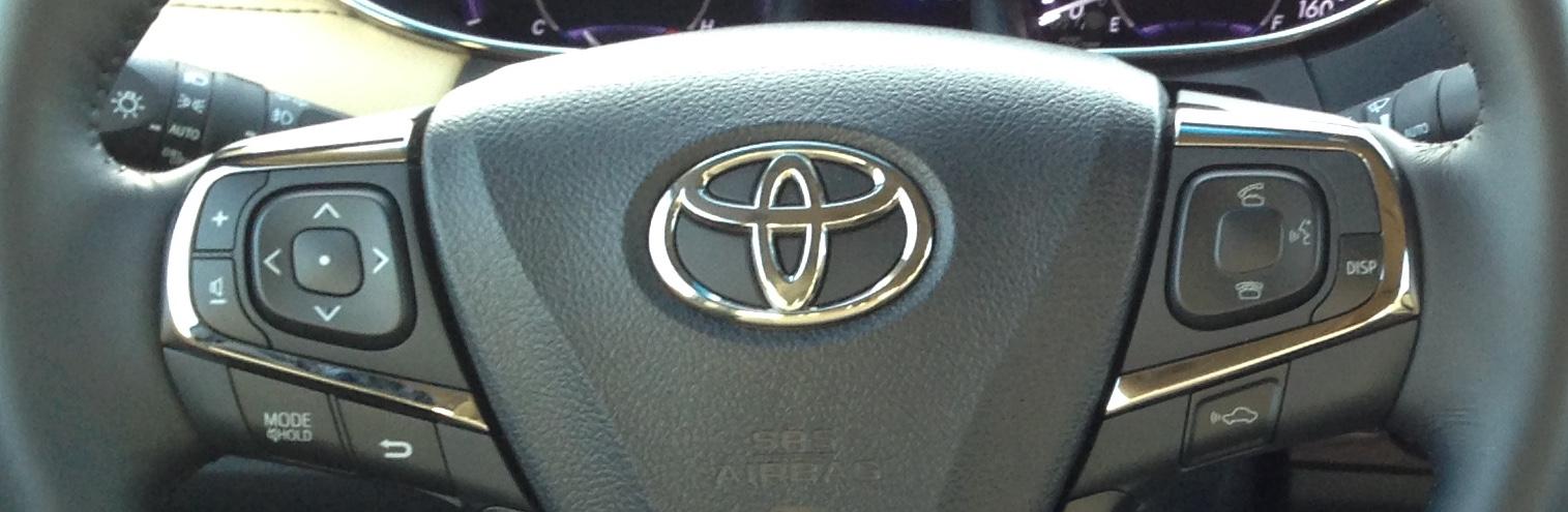 Avalon Steering Wheel