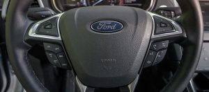 2013 Ford Fusion Energi Steering Wheel