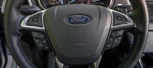 2013 Ford Fusion Energi Steering Wheel
