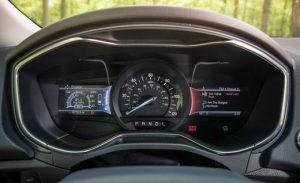 2013 Ford Fusion Energi Titanium Dashboard